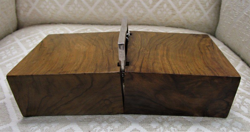 GM1045 Olive Wood Case With Silver Mounts