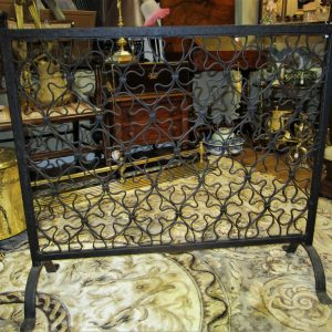 19th Century Cast Iron Firescreen LK1712TX
