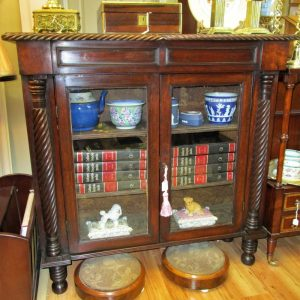 Regency Mahogany 2 Door Display Cabinet LP2109OEX