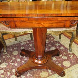 Regency Rosewood Games Table SE2133LEX