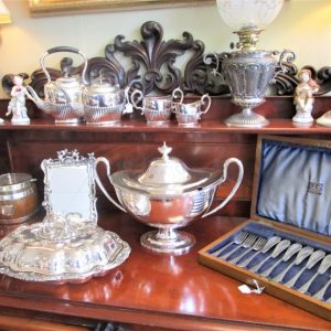Selection of Silver Plate Ware