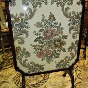 Tapestry Tilt top mahogany table firescreen ML1321LE