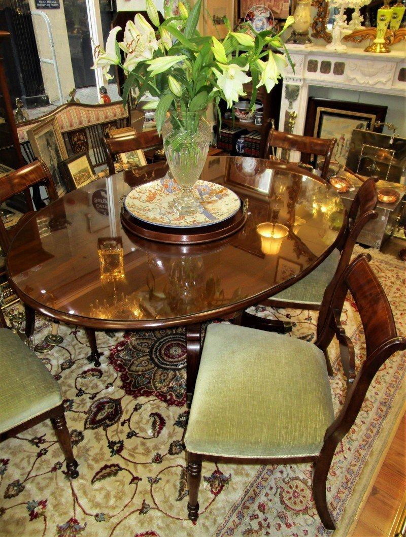 Irish Regency Dining Table The Antique Shop