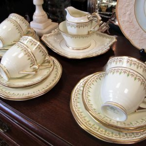Tuscan China cream 6 piece tea set LP2106OE