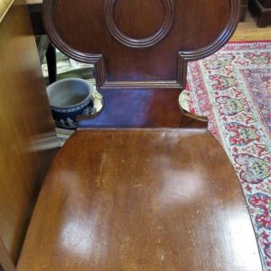 Regency Mahogany Hall occasional Chair LP2355IX
