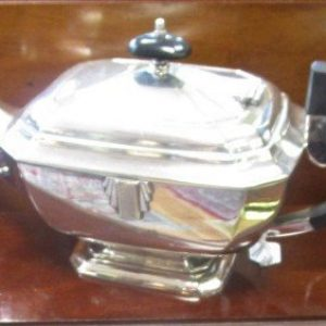 3 piece silver plated Tea service LP2535GE