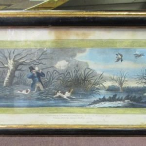 2 Regency Engravings depicting shooting scenes LP2573LX