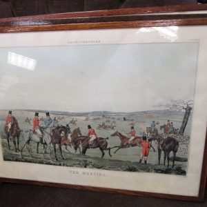 Set of 4 Early 19th Century Hunting Engravings ML2418NX