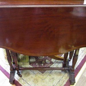 19th Century Mahogany & Inlaid Sutherland Occasional Table ML2421GEX