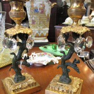 Pair of Regency Gilt Candlesticks SE2564EX
