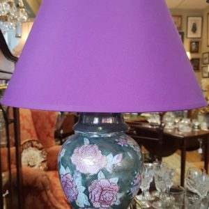 Pair of handpainted Porcelain Lamps SE1469SX