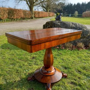 19th Century Rosewood Games Table